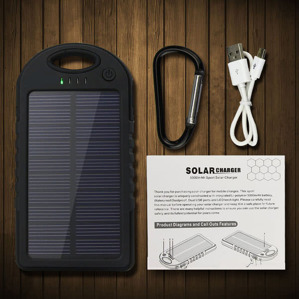 New-2014-YD-T011-Solar-Charger-For-iPhone-4s-5s-6-Waterproof-Solar-Power-Bank-External